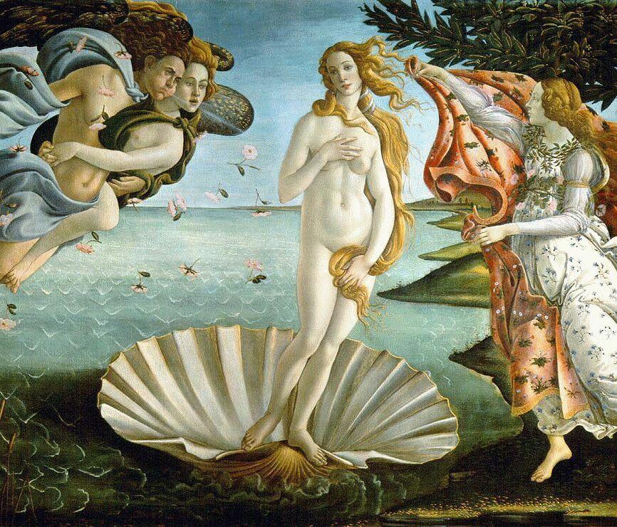 Выставка Сандро Боттичелли «Венера»