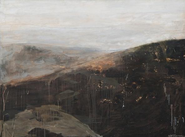 Выставка Александра Животкова «Картон. Дерево. Камень»